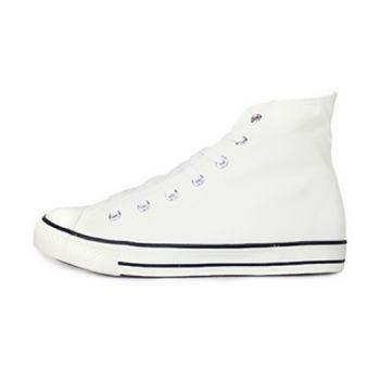 PLAYER 高統百搭帆布鞋 (TP52) 白色