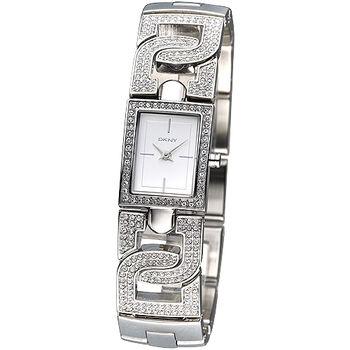 DKNY 晶鑽紐約風範仕女腕錶 NY4934