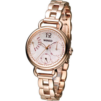 ALBA WIRED f 香氛日和時尚腕錶 5Y66-X007KS AN7030X1