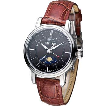 epos Emotion 月相盈虧 機械腕錶 4391.832.20.57.17FB 咖啡色