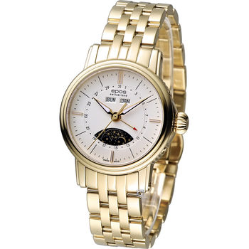 epos Emotion 月相盈虧 機械腕錶 4391.832.22.50.32 金色