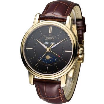 epos 月相多功能典藏機械腕錶 3391.832.22.57.27FB 咖啡+金色