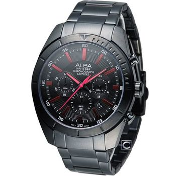 ALBA 雅柏 急速賽車計時腕錶 VD53-X150R AT3605X1