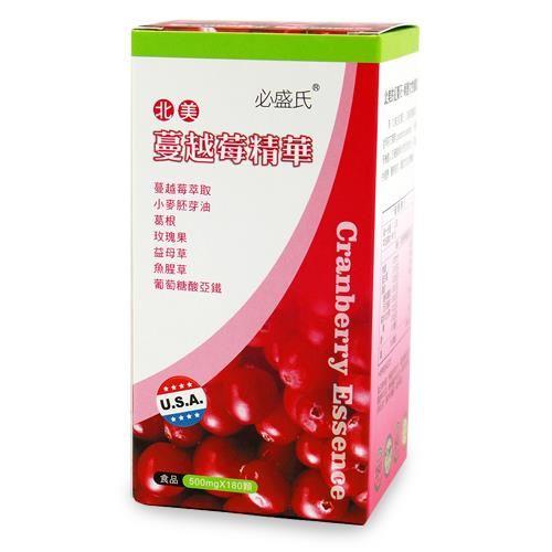 草本之家蔓越莓複方膠囊180粒