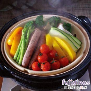 【長谷園伊賀燒】冷熱料理兩用‧遠紅外線健康蒸鍋(3-5人份)
