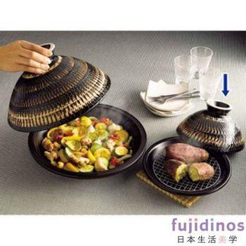 【長谷園伊賀燒】蒸煮式‧摩洛哥陶土塔金鍋(小)22cm