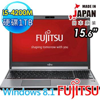[買就送]FUJITSU LIFEBOOK E754 15.6吋FHD i5-4200M 日本原裝商務筆記型電腦(E754-FUB511)