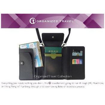 【OT 旅遊配件】護照收納包  (時尚黑)