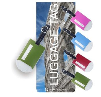 【OT 旅遊配件】 古堡系列行李吊牌 (森林綠)