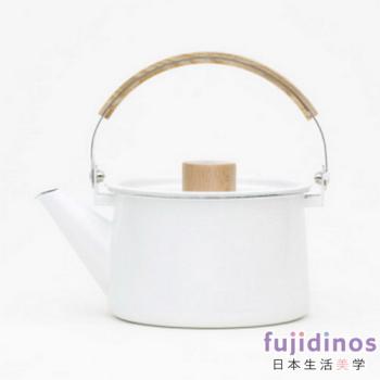 【kaico】簡約風 琺瑯茶壺
