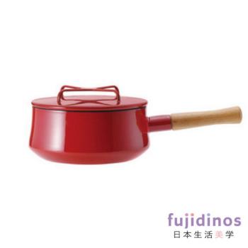 【DANSK】琺瑯單耳燉煮鍋-紅色