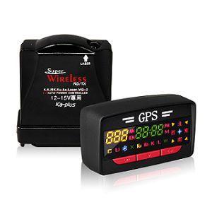 【火狐狸 FIRE FOX】GPS-A3 Plus 衛星定位分離式全頻雷達警示器