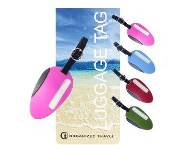 【OT 旅遊配件】海灘系列行李吊牌  (繽紛粉)