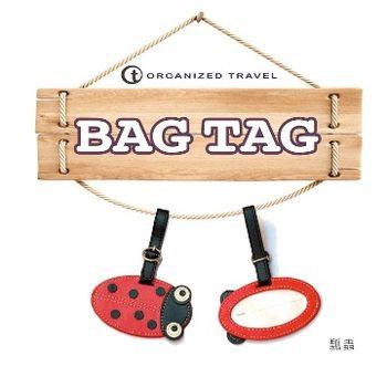 【OT 旅遊配件】可愛動物造型行李吊牌 / ID 吊牌 / 鑰匙圈  瓢蟲