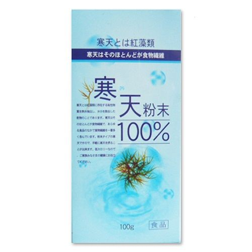 【草本之家】日本寒天粉100克X1瓶