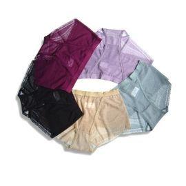 【台製 力夠 LeeGo 】光波能量中低腰女士全蕾絲三角褲(c004) free size