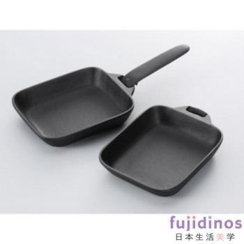 【及源鑄造】鑄鐵平底燒烤盤(迷你兩件組)