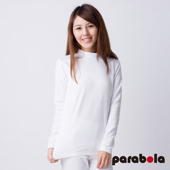 3M Parabela發熱衣 女高領 白色