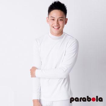 3M Parabela發熱衣 男高領 白色