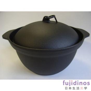 【及源鑄造】鑄鐵炊飯調理鍋‧22cm(5-6人份)