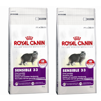 【ROYAL CANIN】法國皇家  SENSIBLE 33  腸胃敏感貓  S33 2KG 2包