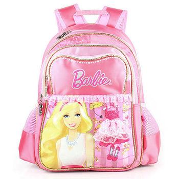 【BARBIE】芭比魔力甜心學生書包(粉紅)