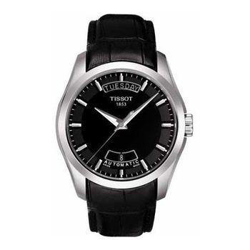 TISSOT Couturier 建構師系列大三針機械錶T0354071605100