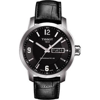 TISSOT PRC200 Powermatic 80 時尚機械腕錶-黑T0554301605700