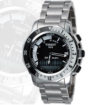 TISSOT SEA-TOUCH 怒海潛將觸控潛水錶 T0264201105100