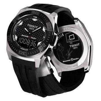 TISSOT Racing Touch Tony Parker 碳纖維觸控腕錶T0025201720100
