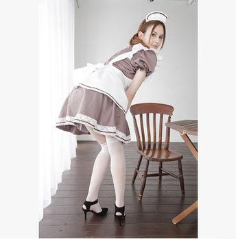 【蘇菲雅】魔幻女佣!高質感情趣女傭人服套裝(含網襪)AV女優瀧澤蘿拉代言AVG-M9080009