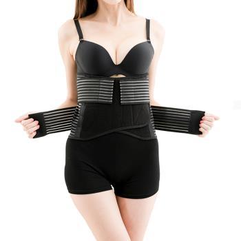 (馨苑)加碼送★護膝+護腕+拉力帶★竹炭提昇舒適護腰帶(買一送三)