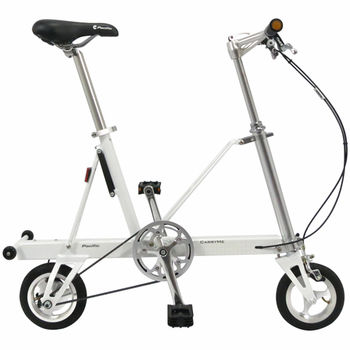 CarryMe STD 8吋單速折疊小輪車 (珍珠白)
