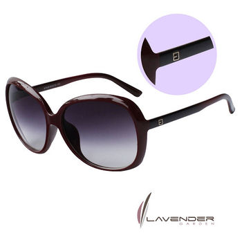 Lavender 時尚太陽眼鏡 S7530 C14 紅棕色