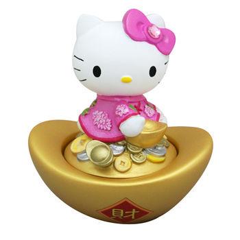【Hello Kitty】印泥盒-粉紅色