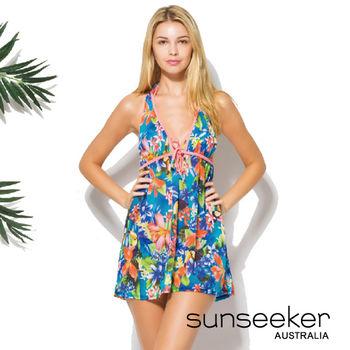【sunseeker 泳裝】海洋度假系列熱帶風情女洋裝 (84026)