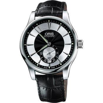 ORIS Artelier 小秒針經典機械腕錶0162375824054-0752171FC