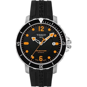 TISSOT米專業排氦潛水機械腕錶T0664071705701