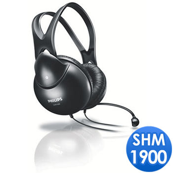 PHILIPS 飛利浦 SHM1900 立體聲電腦耳麥