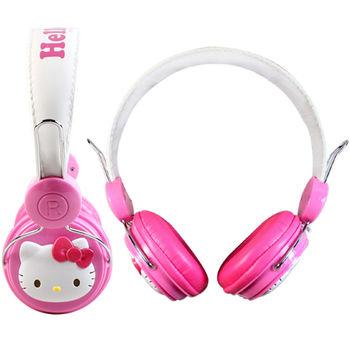 Hello Kitty 『甜心凱蒂』全罩式耳機KT-EM01P