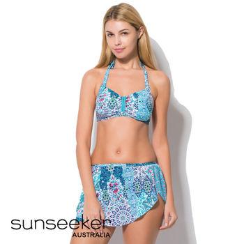 【sunseeker 泳裝】海洋度假系列民俗風情三件式女泳裝 (83117)