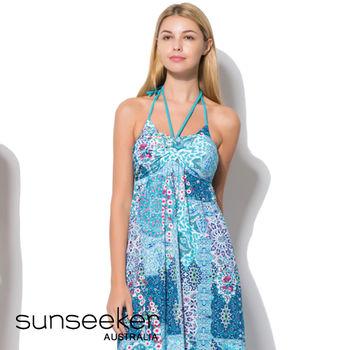 【sunseeker 泳裝】海洋度假系列民俗風情女洋裝 (84032)