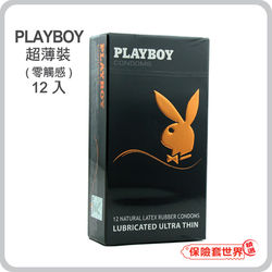 Playboy.東森購物台客服電話超薄裝保險套(12入)