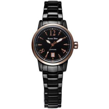 羅梵迪諾 Roven Dino 刀鋒對決‧頂尖時尚指針鋼帶腕錶-金/小〈RD656〉
