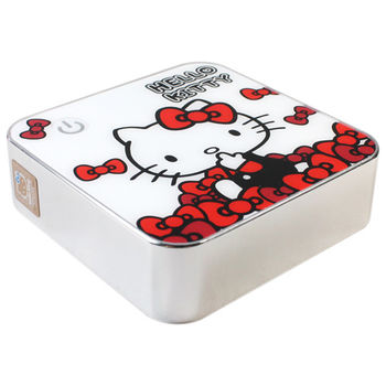 Hello Kitty 『炫彩凱蒂』7800mAh行動電源KT-PB7800-1(白色)