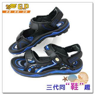 【G.P 休閒多功能氣墊涼鞋】G9153-23 37-43尺碼(寶藍色共三色)