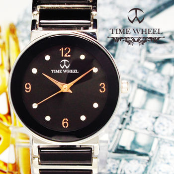 TIME WHEEL 時尚圓型陶瓷錶