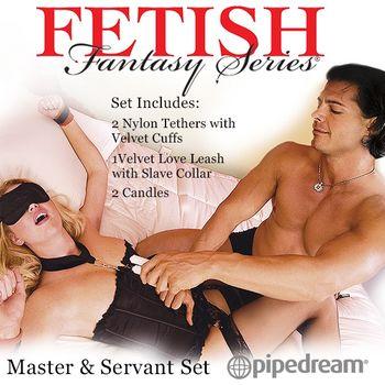 美國原裝進口PIPEDREAM - Fetish Fantasy系列-主人vs僕人SM遊戲套裝組合