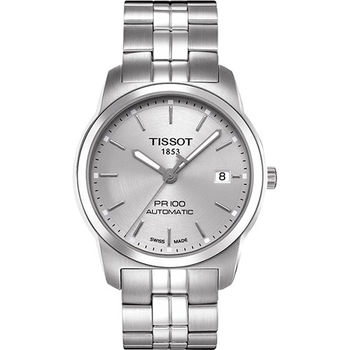 TISSOT PR100 都會年代機械腕錶-T0494071103100