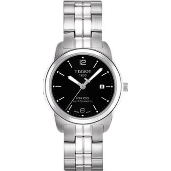 TISSOT PR100 都會年代機械女錶-黑T0493071105700